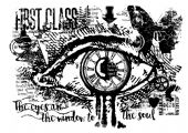 Woodware - A Single Eye - Clear Magic Stamp Set - FRS672